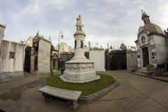 Латинская Америка Южная Америка Recoleta Recoleta Cementery Буэноса-Айрес Аргентины Ла Cementerio славная Стоковые Изображения