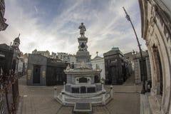 Латинская Америка Южная Америка Recoleta Recoleta Cementery Буэноса-Айрес Аргентины Ла Cementerio славная Стоковая Фотография