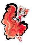 Латинская танцулька Стоковые Фото