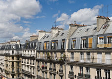 латинская улица места paris квартальная Стоковое Изображение RF