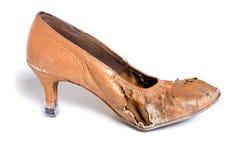 Латинские ботинки танца бального зала Стоковое Изображение