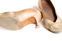 Латинские ботинки танца бального зала Стоковая Фотография RF