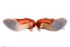 Латинские ботинки танца бального зала Стоковые Фотографии RF