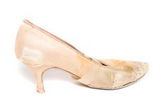 Латинский ботинок танца бального зала Стоковые Изображения RF