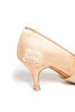 Латинский ботинок танца бального зала Стоковое фото RF