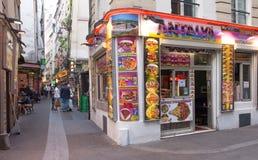 Латинский квартал стоковые фото