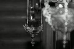 Латунная лампа стоковые фотографии rf