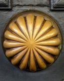 Латунная ручка двери в французском квартале Новом Орлеане Стоковое Изображение RF