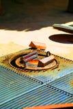 Латунные бары стоковое изображение rf