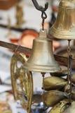 Латунные колоколы стоковые изображения