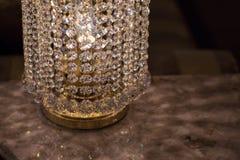 Латунные sconces с кристаллом стоковая фотография rf