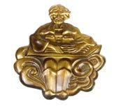 латунный декоративный орнамент Стоковое Изображение