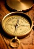 Латунный компас Стоковое фото RF