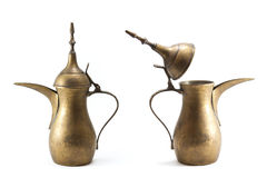 Латунный чайник Стоковое Фото