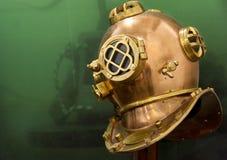 Латунный шлем стоковые фото
