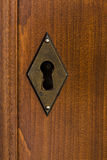 Латунный keyhole Стоковая Фотография RF