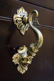 Латунный knocker Стоковое Изображение