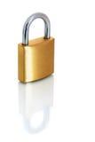 латунный padlock Стоковое Изображение RF