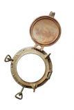 латунный porthole Стоковое Изображение RF