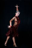 латынь девушки танцора Стоковое Фото