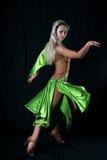 латынь девушки танцора Стоковое Изображение
