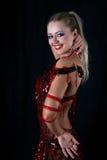 латынь танцора Стоковое Фото
