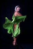 латынь танцора Стоковая Фотография