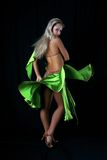 латынь танцора Стоковое фото RF