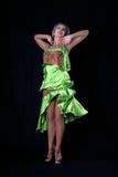 латынь танцора Стоковые Изображения RF