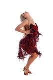 латынь танцора Стоковое Изображение