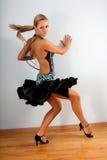 латынь танцора Стоковая Фотография RF