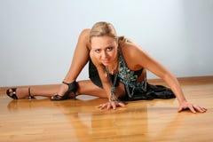 латынь танцора Стоковые Фото