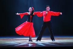 латынь танцульки Стоковая Фотография