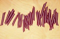 Латышские ленты флага Стоковое Изображение RF