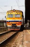 Латышские железные дороги стоковое изображение rf