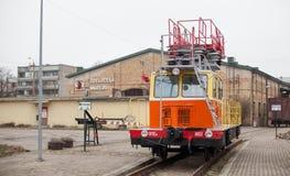 Латышский железнодорожный музей истории Стоковое Фото