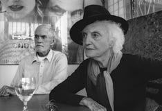 Лаура Huxley и F. Тимоти Leary стоковое изображение rf