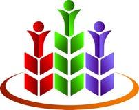 лауреаты премии логоса иллюстрация вектора