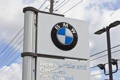 Лафайет, ВНУТРИ - около июль 2016: Местные дилерские полномочия BMW BMW роскошный производитель автомобилей основанный в Германии Стоковые Фото