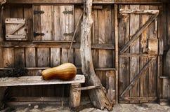 лачуга деревянная стоковая фотография rf