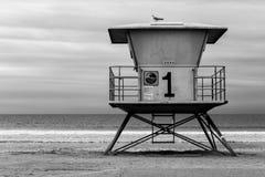 Лачуга личной охраны в южной Калифорния стоковые фотографии rf