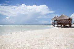Лачуга пляжа стоковые фото