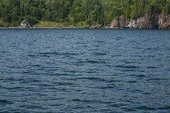Лачуга рыбной ловли Lake Superior стоковые изображения