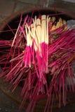 Ладан кучи и свечи низложения Стоковое Изображение RF