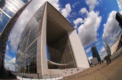 Ла Большой Arche de Ла Défense, Париж Стоковые Фото