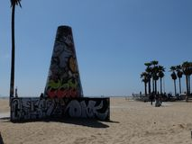 ЛА граффити Стоковое фото RF
