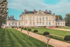 Ла Луара Châteaux de, Loire Valley, Château de Craon стоковая фотография