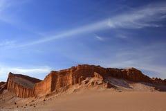 Ла луна Valle de, San Pedro De Atacama, чилеански Стоковое Фото