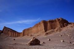 Ла луна Valle de, San Pedro De Atacama, чилеански Стоковые Изображения RF