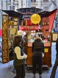 Ла маленькая Crêperie уличного торговца Мельбурна стоковая фотография rf